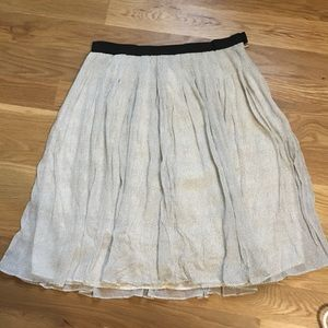J.Crew Collection silk skirt